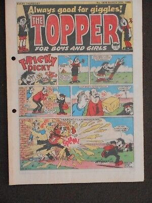 The Topper Comic 30th March 1985 (Issue 1678)