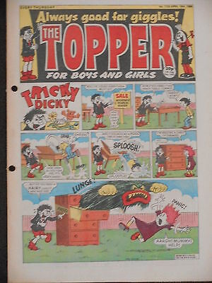 The Topper Comic 19th April 1986 (Issue 1733)