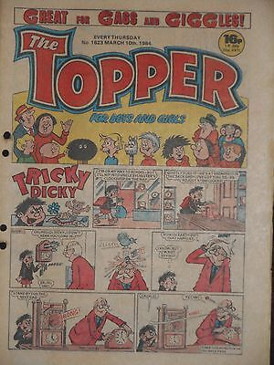 The Topper Comic 10th March 1984  (Issue 1623)
