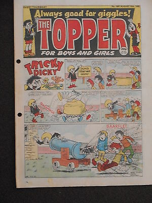 The Topper Comic 10th August 1985 (Issue 1697)
