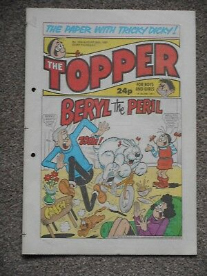 The Topper Comic 29th August 1987 (Issue 1804)