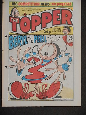 The Topper Comic 19th September 1987 (Issue 1807)