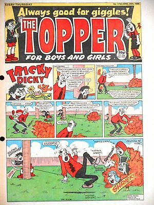 The Topper Comic 26th April 1986 (Issue 1734)