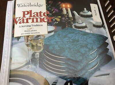 Waterbridge Plate Wamer (Up to 15 Plates) NEW IN UNOPENED PACKAGE