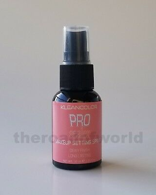 Kleancolor | Pro Sealer | Makeup Setting Spray | Dewy Finish | Long Lasting