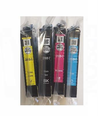 Genuine Epson T288 288-Series Ink Cartridges 4 Espon XP-446 440 434 430 340 330