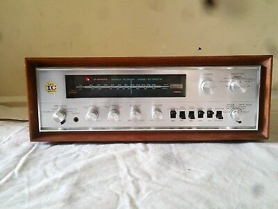 Vintage Pioneer Sx-1000tw Am FM Stereo Receiver