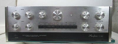 Vintage Accuphase C200 C-200 Stereo Control Preamplifier