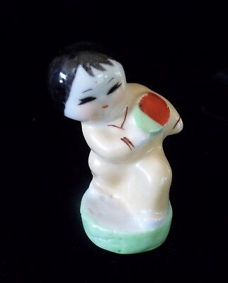Cute Vintage Little Guy Ping-Pong Player Figure rare! Table Tennis China?