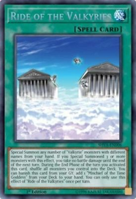 *** Ride Of The Valkyries *** Secret Rare Mint/nm Shva-En006 Yugioh!