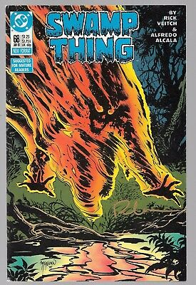 SWAMP THING 68 SIGNED BY RICK VEITCH Alec Holland Superman cameo Lana Lang DC