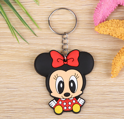 Hot new Creative Cute Keychain Creative Lovers Cartoon Animal Key Ring YSK31