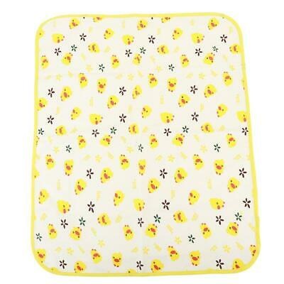 Baby Infant Diaper Nappy Urine Mat Kid Waterproof Bedding Changing Cover Pad Y
