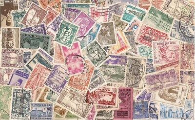 Syria Stamp Collection - 100 Different Stamps