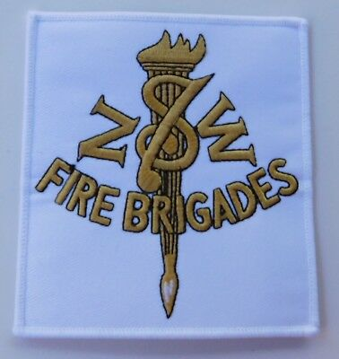 NSW Fire Brigades (Gold & White) patch - Unofficial Patch - Fire Rescue