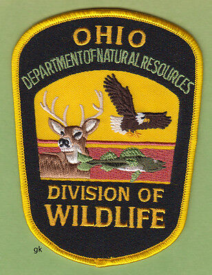 Ohio Department Of Natural Resources  Wildlife Division   Shoulder Patch