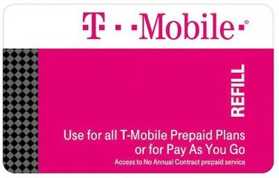 T-Mobile Pre Paid phone card with $111 balance (1554 text or 939 talk time)