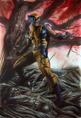 Return Of Wolverine 1 Adi Granov Csa C Blue Yellow Virgin Variant Nm