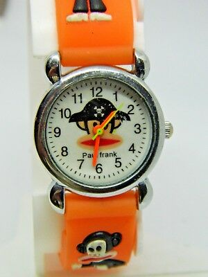 Small face Paul Frank Watch Orange band