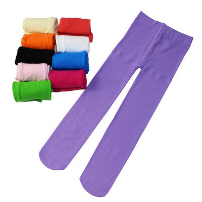 Colorful Girls Kids Baby Tights Stockings Pantyhose Socks Ballet Dance Pants New