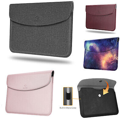 "For Microsoft Surface Go 10"" 2018 Case Sleeve Slim Fit Vegan Leather Cover Pouch"