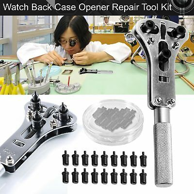 New Watchmaker Watch Repair Tool Kit Retour Case Cover Opener Batterie Remover