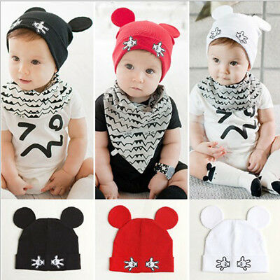Newborn Toddler Kids Girl&Boy Baby Infant Winter Warm Cute Cotton Hat Beanie Cap
