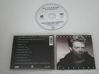 Bryan Adams /Reckless A&m 395 013-2) CD Album