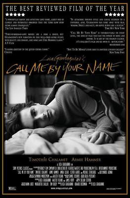 "Call Me By Your Name Movie Poster Art Film Silk Print 13x20"" 24x36"" 27x40"""
