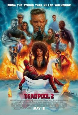 "Deadpool 2 Ryan Reynolds Superhero Movie Poster Art Print 13x20 24x36"" 27x40"""