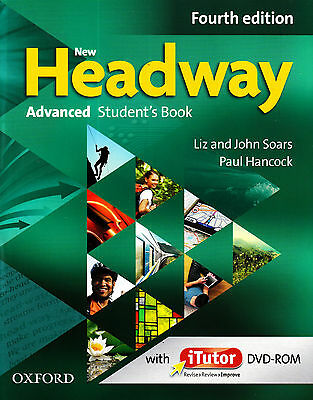 NEW HEADWAY ADVANCED Fourth Edition Student's Book with iTutor DVD-ROM @New 2015