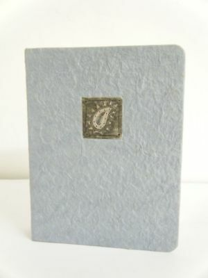 Small Mulberry Paper Photo Album 20 Interleaved Sheets Pale Blue 12.5 x 16cm