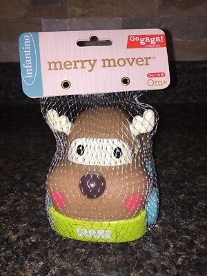 Infantino Baby 1st Christmas Toy Merry Mover Reindeer Car New Target Exclusive