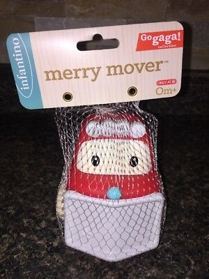 Infantino Baby 1st Christmas Toy Merry Mover Car Snowplow New Target Exclusive