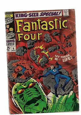 MARVEL COMIC FANTASTIC FOUR KING SIZE NO 6 Nov 1968 First App of Annihilus 25c