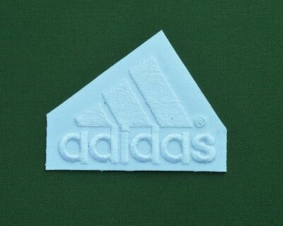 patch adidas blanc broder et thermocollant 6.8705cm