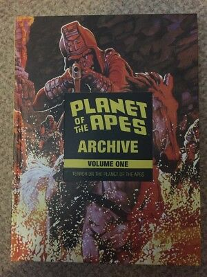 Planet Of The Apes Archive Volume 1 OOP - Boom Comics - Marvel - B&W