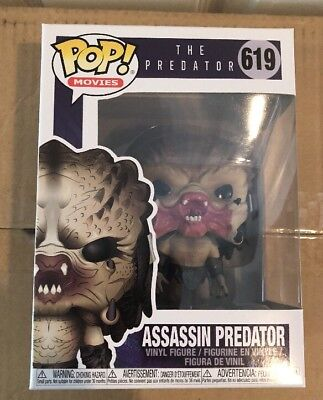 Funko Pop Movies Assassin Predator 619 In Stock Now New Movie.