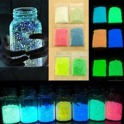 Magic Fluorescent Super Bright Glow in the Dark Sand Particles Glow Pigment fa#2