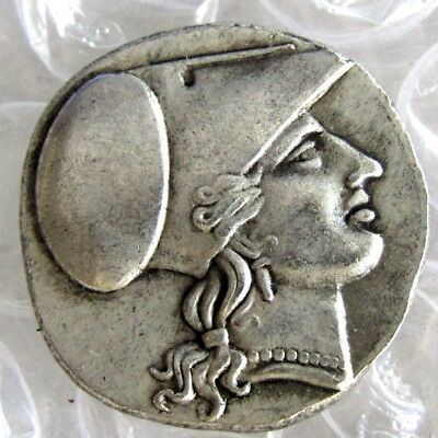 Rare Ancient Greek King Collectible Coin 415 BC Tetradrachm Antique Metal Plated