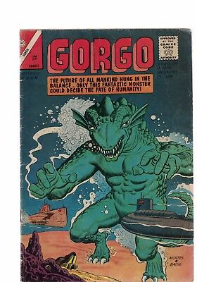 Charlton Comics Gorgo Vol 1 #14  MGM Monster Movie Silver Age Comic Steve Ditko