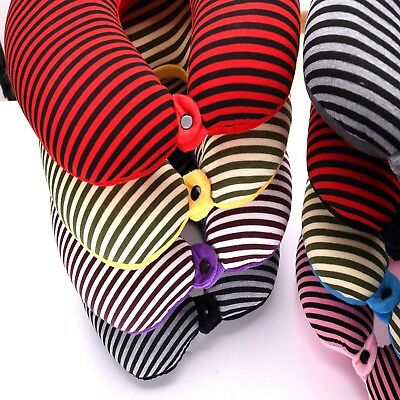Neck Pillow Ultralight Micro Beads Head Cervical Support U Shaped Travel Cushion