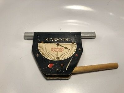 Vintage 1958 Capitol Publishing Starscope Protractor New York NY