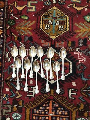 """Towle Sterling Silver French Provincial Teaspoon 5-7/8"""" , 11 Available"""