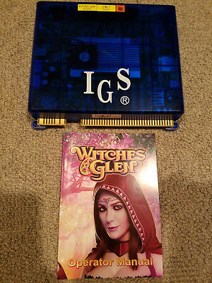 WITCHES GLEN VGA 25 LINER SLOT GAME - IGS - Cherry Master Game Board - NEW