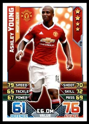 Match Attax 2015-2016 Ashley Young Manchester United No. 173