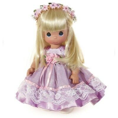 Precious Moments 12 Inch Doll, Lovely in Lavender, New in Box with Tag, 6627