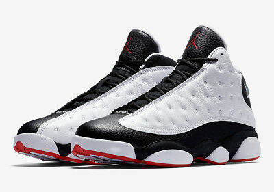 98986636ed3 2018 Air Jordan Retro 13 XIII He Got Game Black White Red 414571-104 Size