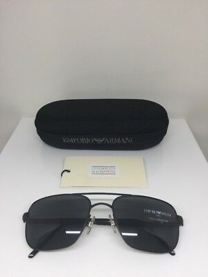 78022b78714 Vintage Emporio Armani Sunglasses EA 159 Matte Black C. 706 Made In Italy