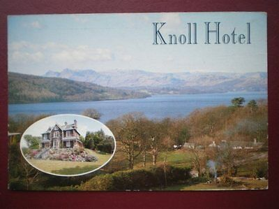 Postcard Cumbria Bowness-On-Windermere - Knoll Hotel